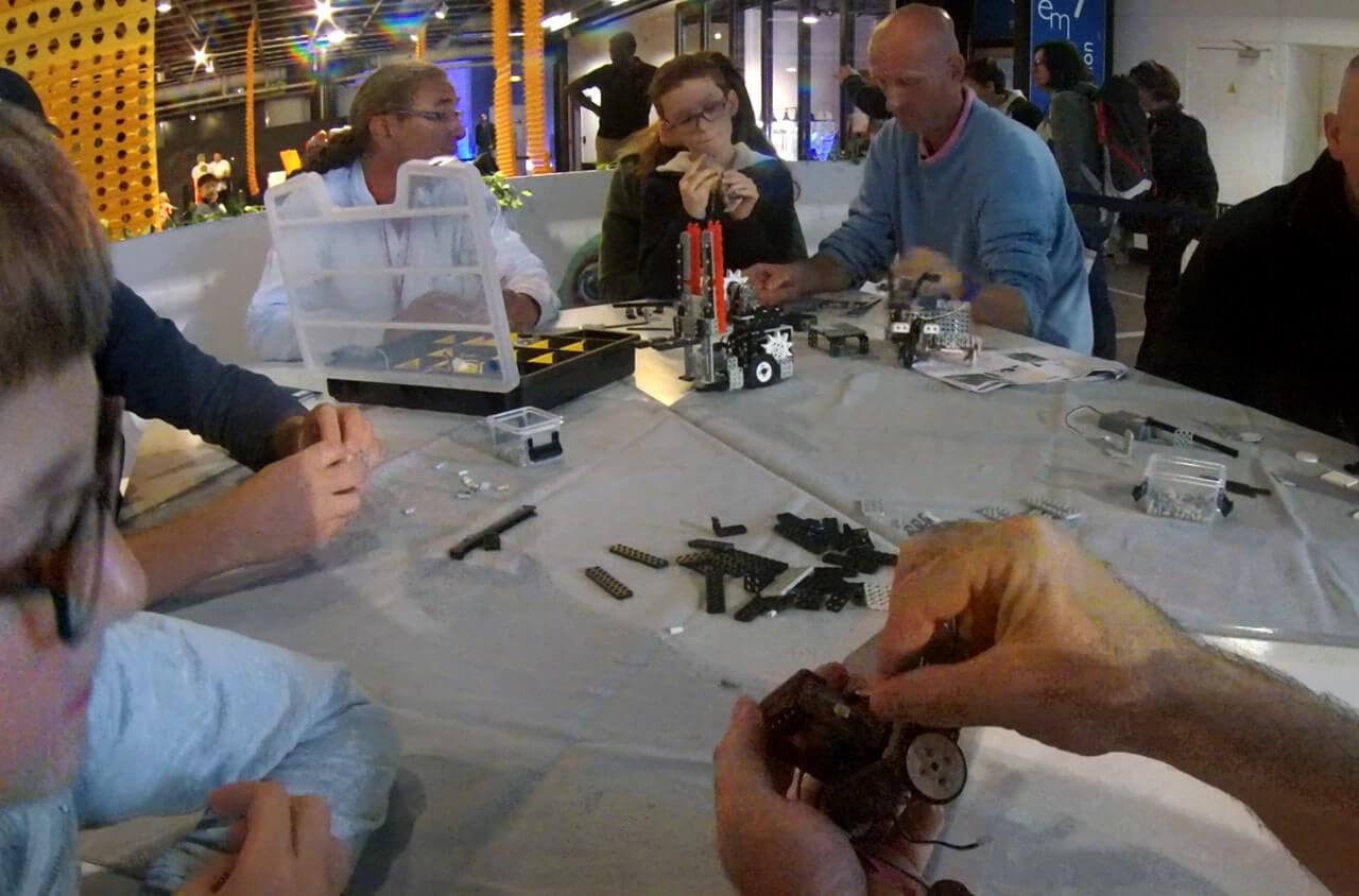 Educabot organise des ateliers robotiques pour la fête de la science 2018