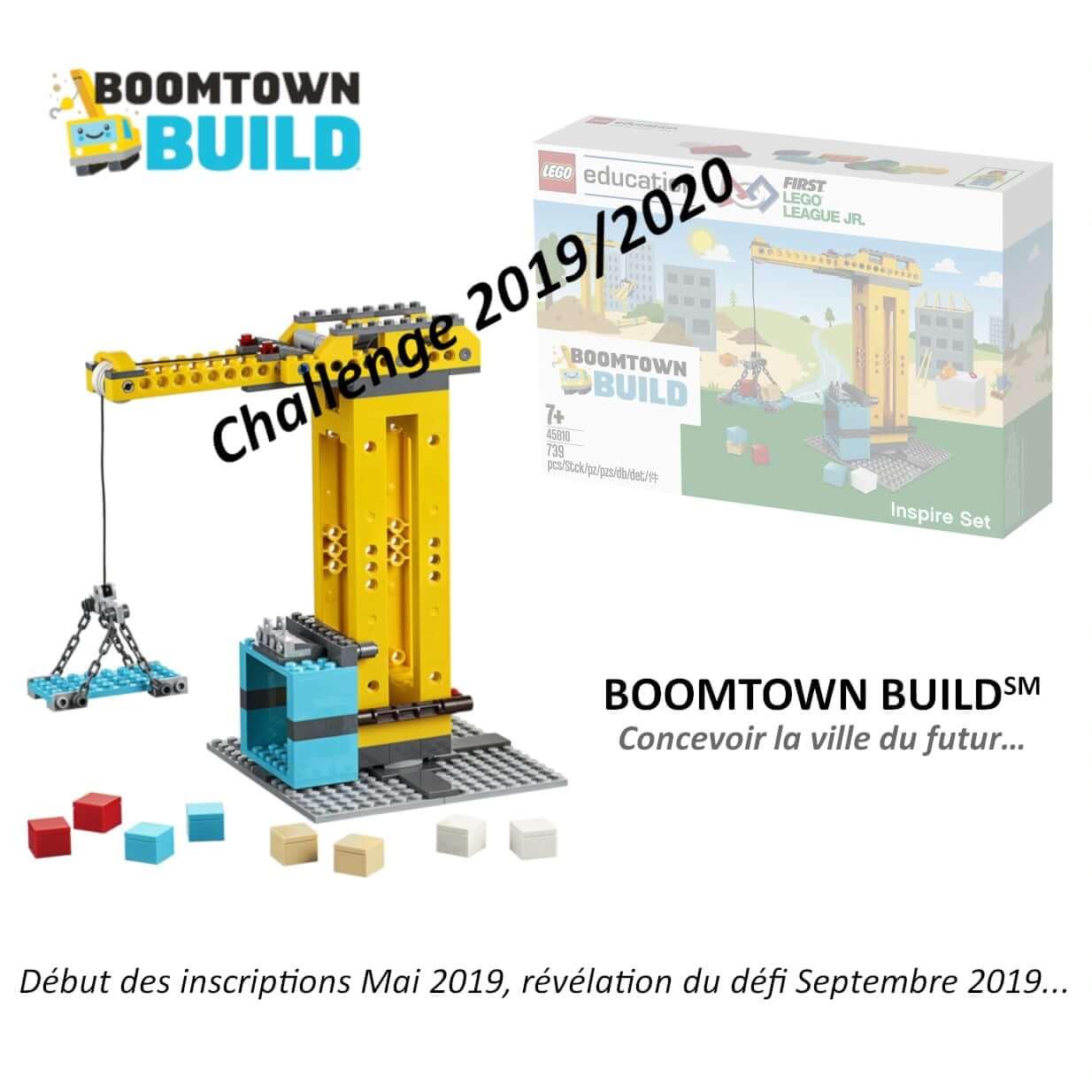 Boomtown-build Challenge FLL Junior 2019-2020
